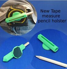 Tape measure pencil holster joinery carpenter joiners pencils tool fits 3m 5m 8m
