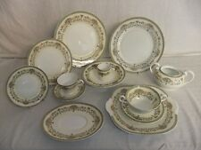 C4 Porcelain Fine Bone China Aynsley - Henley - plates, cups saucers, bowls 6D6A