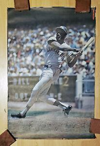 Vintage 1970 SAN FRANCISCO GIANTS / BOBBY BONDS  - Sports Illustrated poster SF