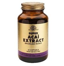 Solgar Super Acai Extract Brazilian Berry Food Supplements 150 mg 50 Softgels