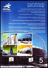 Qatar 2006 ** Bl.51 Sport Asienspiele Asian Games Stadion Stadium