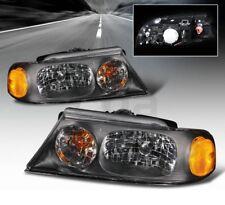 JAYCO FIRENZA 2003 2004 2005 HEAD LIGHTS LAMPS RV HEADLIGHTS SET BLACK - PAIR