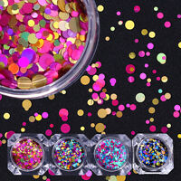2g Born Pretty Nail Art Glitter Sequins Flakes Paillette Mixed Round Colorful