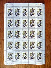 BARBUDA Wholesale 1985 Bird $5 in Complete Sheet of 25 SALE PRICE FP2447