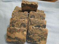 Neem Tea Tree Lemongrass and Patchouli Acne Scabies etc. Ayurveda Handmade Soap
