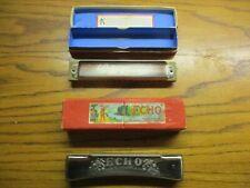 Vintage Horner Harmonicas Marine Band No. 365 & Echo - In Original Boxes !!