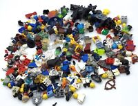 LEGO 11 OUNCE LOT OF MINIFIGURE BODY PARTS & ACCESSORIES INCOMPLETE PEOPLE MIX