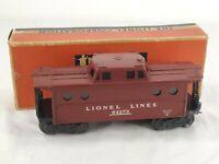 Lionel 64273 6427 Lionel Lines Porthole Window Caboose 1953 W Original Box
