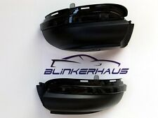 SMOKED VW Golf Mk6 GTI R Cabrio Touran LED Side Repeaters Wing Mirror Indicators