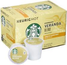 Starbucks Veranda Blend Blonde Roast Coffee Keurig k-cups  20 k cups 2/2019