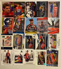 Jeff Gordon NASCAR LOT OF 40 INSERTS PARALLELS NO DOUBLES!!!!!!!