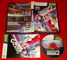 DANCE CENTRAL 2 XBOX 360 Per Kinect Versione Italiana 1ª Ediz ○ COMPLETO - FG