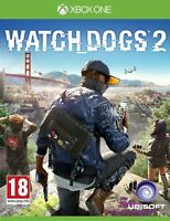 Watch Dogs 2 (Microsoft Xbox One Mint Condition Fast & Free