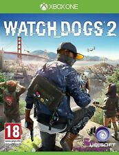 Watch Dogs 2 (Xbox One) - MINT - 1st Class FAST & FREE Delivery