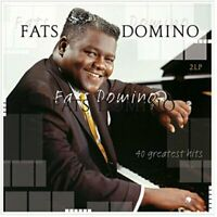 Fats Domino 40 Greatest Hits 2 Lp 180G Vinyl Record Going To The River + More