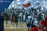 Mounted Men at Arms 1450-1500 – 28mm mounted figures x12 Perry WR40 - free post