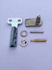 GAS / ELECTRIC METER BOX REPAIR KIT - Full Metal Latch, Long Metal Key, Hinges