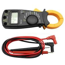 AC DC Voltage LCD Digital Clamp Multimeter Electronic Buzzer Tester Meter