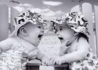 Laughing Babies Funny Feminine Birthday Card - Greeting Card by Avanti Press photo
