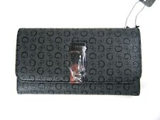 Guess Andra SLG Coal Trifold Clutch Wallet New NWT
