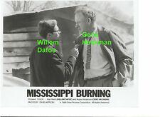 GENE HACKMAN MISSISSIPPI BURNING WILLEM DAFOE KKK ORIGINAL 8X10 PRESS PHOTO B
