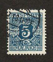 Denmark stamp #P2, used, Newspaper stamp, 1907, SCV $13