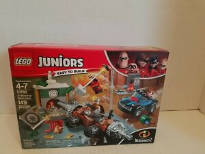 LEGO Juniors The Incredibles 2 Underminer Bank Heist #10760. NEW in sealed box.