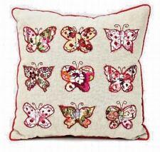País Mariposa Patchwork Mini Cojín Estilo de estilo vintage y retro regalo amantes de los animales