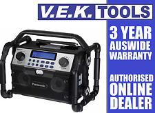 PANASONIC 14.4v / 18v CORDLESS JOBSITE RADIO-BLUETOOTH-USB CHARGING-ALSO 240V