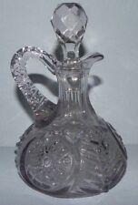 Amithyst Blown Glass Oil Bottle Curet & Stopper_2820