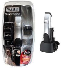 Wahl groomsman rasoir tondeuse cheveux barbe corps sans fil 9906-2017 kit