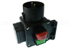 TRIPUS Sicherheitsschalter 230V - Wiederanlauf Schutz Maschinenschalter IP44
