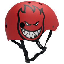 Pro Tec Skateboard Helmet SPITFIRE BIGHEAD RED Classic Skate Size LARGE