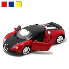 1:36 Bugatti Veyron Alloy Diecast Car Model Light Sound Collection Toy Xmas Gift
