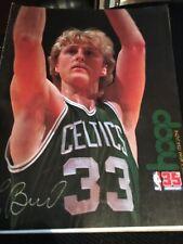 Bulls vs Boston Celtics Program, Larry Bird on cover1980, Chicago