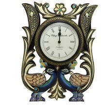 Peacock Wall Clock Indian Handmade Handcrafted Home Decorative Chrishmas Gift