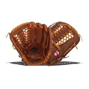 """2021 Nokona Classic Walnut Glove 12.75"""" W-1275M W-1275 Outfield Baseball"""