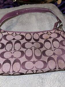 old coach purse
