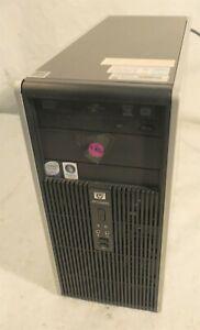 HP Compaq dc5800 Microtower Desktop Computer w Windows Vista Business COA