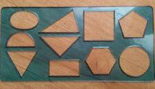 Plantilla Plantilla Dibujo Geométrico 25 X 12.5 cm-NUEVA-Arts niños Etc-Ver Fotos