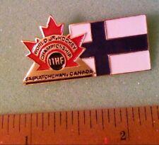 Hockey Pin - 1991 World Junior Hockey Championship Team Finland