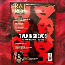 RARO! 236 Magazine about discography ps TALKING HEADS Spettri BILL HALEY Byrne