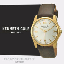 Authentic Kenneth Cole New York Men's Gold-tone Case Quartz Watch KC5169