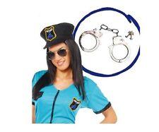 GUIRCA Manette poliziotto agente ranger accessori carnevale adulto mod. 16053