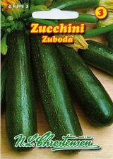 Zucchini Zuboda,Saatgut,Cucurbita pepo,Gemüse,Chrestensen,NLC 3