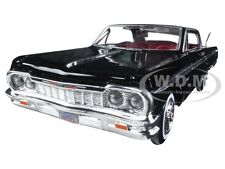 1964 CHEVROLET IMPALA BLACK 1/24 DIECAST MODEL BY MOTORMAX 73259