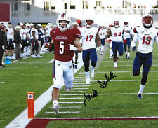 Umass Minutemen #5 ANDY ISABELLA Signed Autographed 8x10 Football Photo COA!