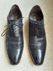 Mens M&S Collezione Shoes, Black, Size 12