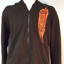 Copper Run Distillery Hoodie Size L Small Batch Big Passion Full Zip Ships Free
