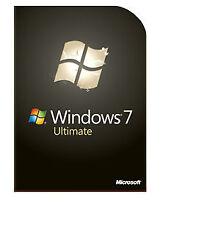 Microsoft Windows 7 Ultimate 32 & 64 Bit OEM Lifetime License key
